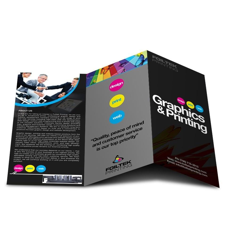 brochure design 3 fold