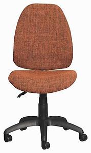 Orange Zoom Typist Chair