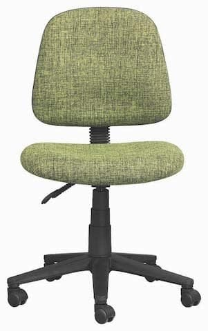 green operators chair without arms