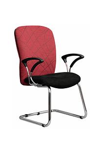 Cerise Designer Visitors Chair