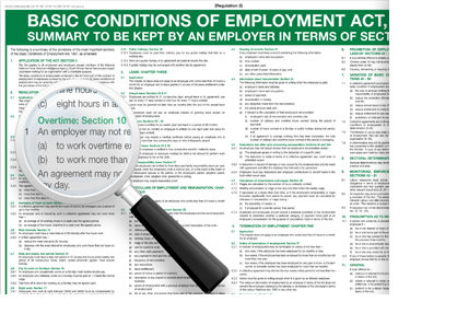 BASIC CONDITION OF EMPLOYMENT ACT