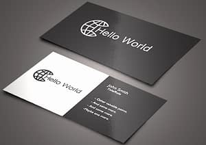 business card smart selling tool
