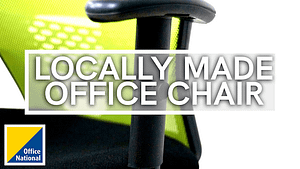 Locally made office Chair logo