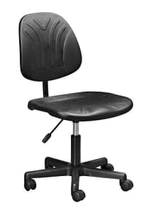 Black industrial office chair Saldanha bay
