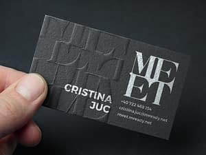 communication business cards